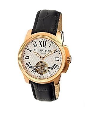 Heritor Automatic Uhr Franklin Herhr2905 schwarz 46  mm