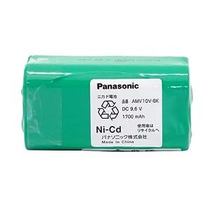 【クリックで詳細表示】Panasonic 充電式掃除機用電池 AMV10V-8K: ホーム&キッチン