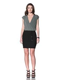 Vena Cava Women's Donna Knit Dress (Olive/Black)