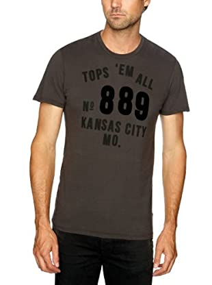Lee Camiseta Hendry (Negro lavado)
