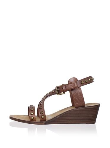 Ash Women's Orchid Bis Wedge Sandal (Camel)