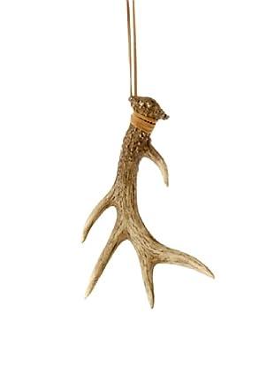 Raz Antler Ornament II, Brown
