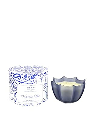 D.L. & Co. Victorian Lilac 10-Oz. Scallop Candle