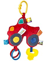 Mary Meyer Taggies Wheelies Activity Toy, Monster Truck