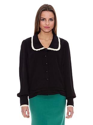 Pepa Loves Camisa Violeta (Negro / Crudo)