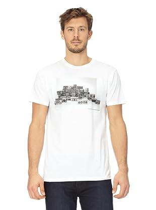Analog T-Shirt Ghetto Blasters (White)