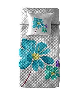 Costura Colcha Bouti Blue Blossom