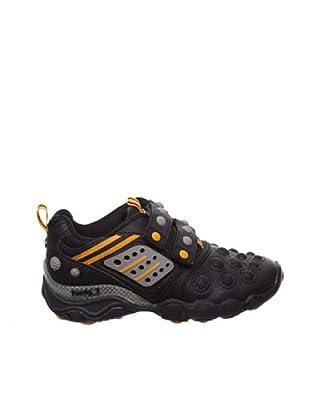 Footgol Zapatillas Velcros (Negro / Naranja)