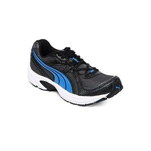 Puma Men Black and Grey Kuris II Ind Sports Shoes