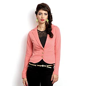 ONLY Women Coral Pink Melissa Jacket