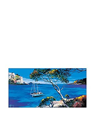 Artopweb Wandbild Keiflin Le Voilier Blanc 50x100 cm mehrfarbig