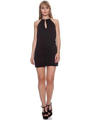Santa Barbara Vestido Lazo (Negro)