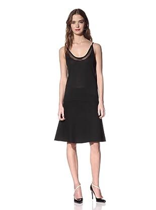 NINA RICCI Women's Silk Tank Top (Black)