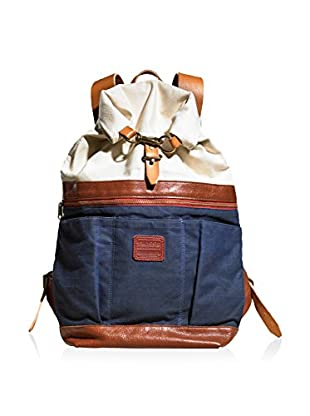 TM1985  Roll-Top Canvas Backpack