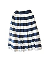 The Sewing Machine Big Stripe Skirt