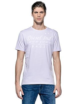 Diesel Camiseta T-Coordinates-R (Lila)