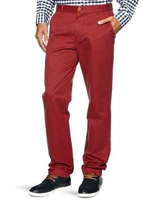 Brooks Brothers Pantalón Morris (Rojo oscuro)