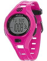 Soleus digital Dash Small Pink Women's sports watch - SR019-600