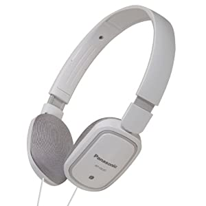 Panasonic RP-HX40E-W Ultra Light On-Ear Headphone for iPod, MP3 Player (White)