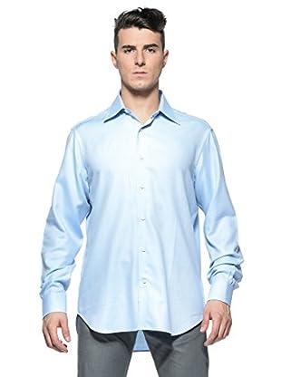 Rodrigo Camisa  Philip (Azul Celeste / Blanco)