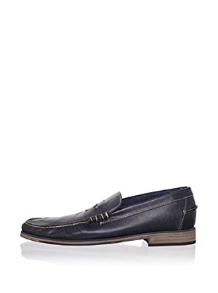 J Artola Men's Lennon Loafer (Navy)
