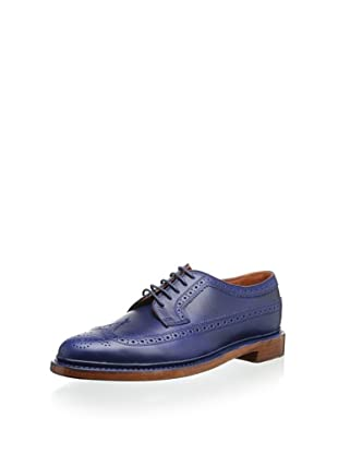 Florsheim By Duckie Brown Men's Smooth Brogue Oxford (Blue)