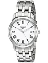 Tissot Classic Dream Analog White Dial Women's Watch T0334101101301