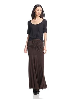 Rick Owens Lilies Women's Ruched Skirt (Bitter)