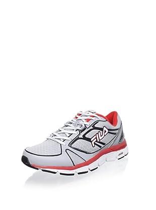 Fila Men's Verve 2 Ss Running Shoe (Hrs/Wht/Ppyred)