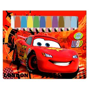 Disney 02830 Cars Water Based Color Pencils