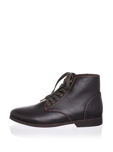 Generic Surplus Men's Ledger Leather Mid Boot (Earth)