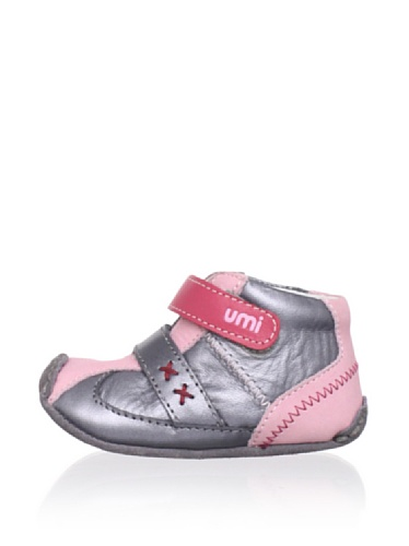 umi Alix Boot (Infant/Toddler) (Pewter/Pink)