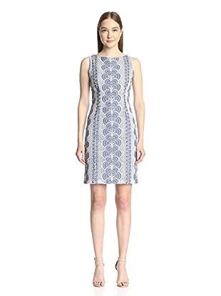 Chetta B Women's Eyelet Sheath Dress