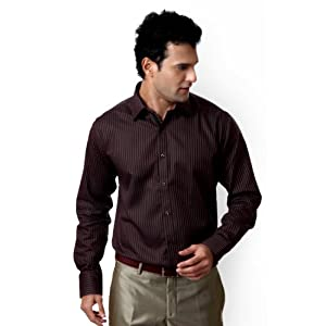 Van Heusen Striped Slim Fit Shirt