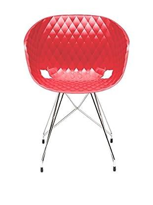 Metalmobil Stuhl Unika-596 rot
