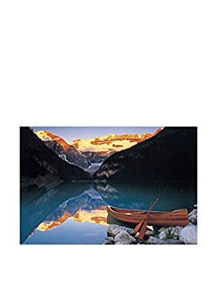 ARTOPWEB Panel Decorativo Anonymous Canoe On Lake Louise