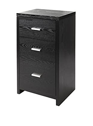Neu Home 3-Drawer Unit, Black