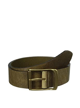 The British Belt Company Men's Rollerston Belt (Olive)