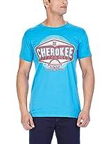 Cherokee Men's Round Neck T-Shirt