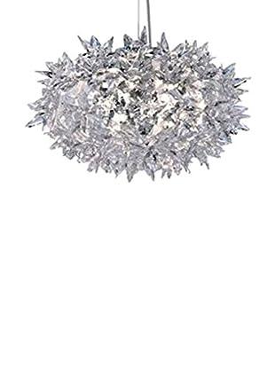 Kartell Pendelleuchte Bloom S2 kristall