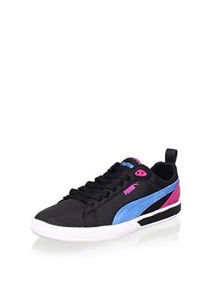 PUMA Women's Future Suede Lite Sneaker (Black)