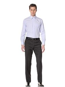 GF Ferré Men's Pinpoint Oxford Dress Shirt (Light Blue)