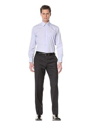 GF Ferré Men's Pinpoint Oxford Dress Shirt