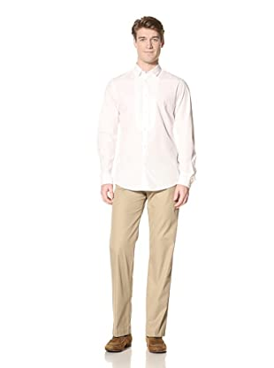 Ben Sherman Men's Long Sleeve Shoreditch Collar Shirt (White)