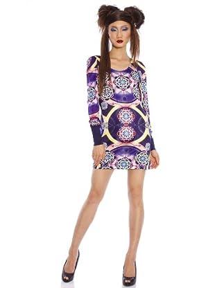 Custo Barcelona Kleid Su Selt (Violett)