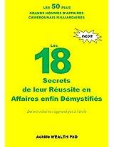 FOTSO VICTOR, ANDRE SIAKA, CAMEROUN, ANDRE FOTSO, BILL GATES: LES 50 PLUS GRANDS HOMMES D'AFFAIRES: LES 18 SECRETS DE LEURS REUSSITE EN AFFAIRES ENFIN DEMYSTIFIES (French Edition)