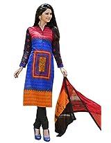 RGN Retails womens cotton unstitched dress material for salwar suit kameez RGN-1311