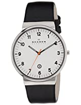 Skagen End-of-Season Analog Silver Dial Men's Watch - SKW6024I