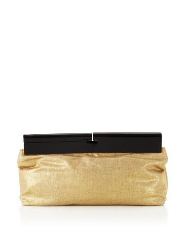 Foley + Corinna Women's Clutchable Clutch (Gold Linen)