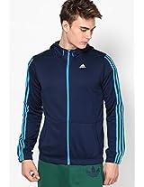 Navy Blue Training Sweat Jacket